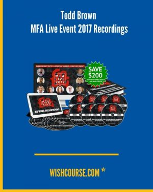 Todd Brown - MFA Live Event 2017 Recordings (1)